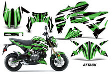 AMR Racing Kawasaki Z125 PRO Graphic Kit Dirt Bike Decals MX Wrap 2017 ATTACK G