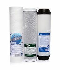 SET OF 5 MICRON FILTER•CARBON BLOCK•ACTIVATED CARBON•REVERSE OSMOSIS•REPLACEMENT