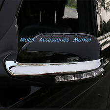 New Chrome Rearview Mirror Trim For Ford Explorer 2016 2017