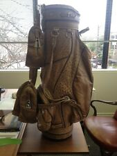 Men's Ostrich Skin Golf Bag