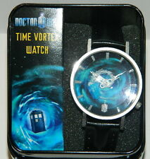 Doctor Who Rotating Tardis Time Vortex Quartz Wrist Watch 2013 NEW UNUSED