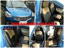 Mitsubishi Mirage High quality Factory Fit Customized Leather CAR SEAT COVER