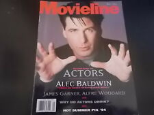 Alec Baldwin, James Garner - Movieline Magazine 1994