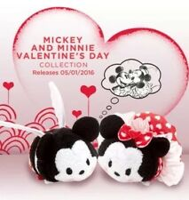 Disney Mickey & Minnie Mouse Tsum Tsum Mini Valentine's Day Gift plush toys New