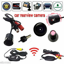 Waterproof Wireless Rear View Backup Reverse Camera Cam For Car Video Monitor