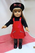 EUC American Girl MAG3 Blonde Hair Blue Eyes Original Meet Outfit Retired Doll 2