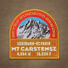 Mt. Carstensz Seven Summits Mountain Patch