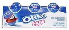 MONDELEZ^ 3.57 oz 3pc Pack OREO EGGS Cookie CANDY Creme Filled EASTER Exp. 8/17