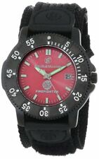 Smith & Wesson Fire Fighter Watch - Back Glow w/Nylon Strap MODEL#SWW-455F