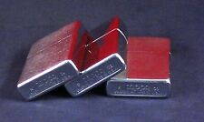 Handy Lot of 3 Classic Zippo Lighters (for parts or repair)