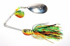 32G FIRETIGER SPINNER BAIT fishing lure for pike perch bass UK MADE