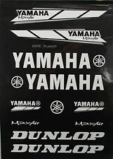 YAMAHA Decal Sticker ATV Motorcycle Dirt Bike CRF TTR YZF ATC BLACK V DE23
