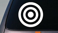 "BULLSEYE BULLS EYE 6"" STICKER DECAL CAR WINDOW TRUCK 2A TARGET SHOOTING Barrel"