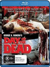 DAY OF THE DEAD (DIR: GEORGE A. ROMERO) - 2 BLU-RAY SET - BRAND NEW!! SEALED!!