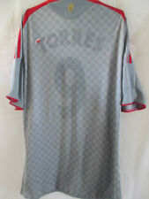 Liverpool 2008-2009 Away Football Shirt Size Large torres faded  /11489