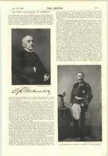 1894 Prince Hohenlowe Langenberg New German Chancellor