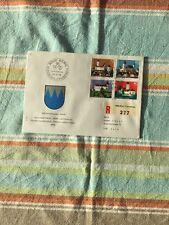 Schweiz, Brief/Beleg Pro Patria FDC Ausgabetag als R-Brief. Kompl. Serie 1979