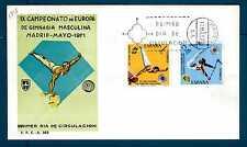 SPAIN - SPAGNA - 1971 - FDC - Campionato europeo di ginnastica maschile. E2856