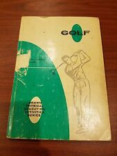 Golf by Nance, Davis - Brown Physical Education Activities Series