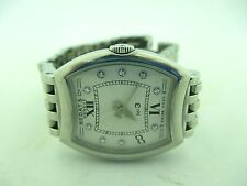 Vintage Bedat & Co. Women's 304.011.109 No. 3 Silver Diamond Dial Watch.