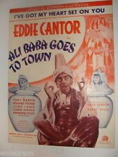 I've Got My Heart Set on You 1937 from Ali Baba Goes to Town  Eddie Cantor
