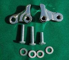 """1"""" Chrome Lowering Kit fits 2006-2016 Harley Davidson Dyna Wide and Super Glide"""