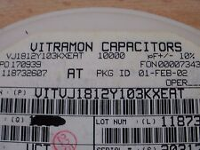 ceramic capacitor 1812 series 0.01uF 500V X7R 10% 10pcs £5.00 Z781