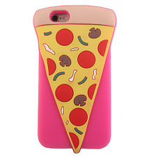 iPhone 6 6S 3D Silicone Cute Pizza Slice Shaped Back Cover Case