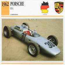 1962 PORSCHE 804 #2 Racing Classic Car Photo/Info Maxi Card