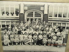 Large Photo Stanley Hall School Class of 1953 Evansville IN 8th Grade With Names