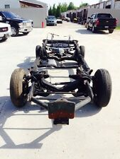1980-1982 Corvette Rolling Chassis