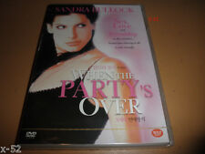 Early SANDRA BULLOCK dvd WHEN the PARTY's OVER rae dawn chong Kirs Kamm