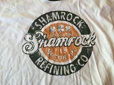 Lucky Brand Shamrock Motor Oil Shirt XL