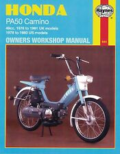 Haynes Manual 0644 - Honda PA50 Camino 49cc (76 - 91) - LIMITED EDITION REPRINT