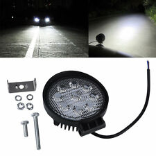 27W 12V 24V Spot Led Work Light Lamp Bar Boat Tractor Truck Off-road SUV BY