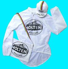 Molteni Rain Jacket for Cycling White waterproof Pro L size