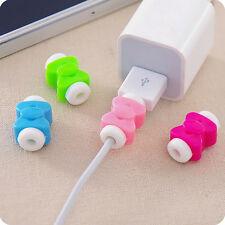 10Pcs Butterfly Charging Cable Protector Saver For Apple Watch Cable iPhone 7