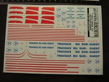 DECALS TRAIN 1/87 MARQUAGES TSO CC 65500 / V100..  - CARPENA  8727