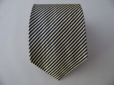 BENSON & FACTORY SILK TIE SETA CRAVATTA MADE IN ITALY  A863