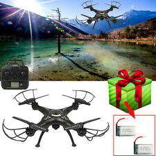 X5SW-1 2.4Ghz 4CH Wifi Drone FPV 6-Axis RC Quadcopter HD Camera RTF+2 Battery