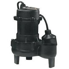 """Electric SEWAGE EJECTOR PUMP Submersible - 5,700 GPH - 115V - 1/2Hp - 2"""" Ports"""