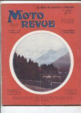 Moto Revue N°352  ; 7 décembre   1929 : culasses à soupapes en tête