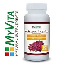 Forskolin Nettle Indian 250mg MyVita - 60 capsules. effective weight loss ! P&P