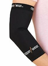Copper Wear Compression Elbow Sleeve Tommie Fit Support Brace Recovery, Medium