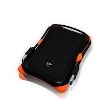 1TB External Portable Hard Disk Drive, HDD, USB 3.0, Silicon Power Armor A30