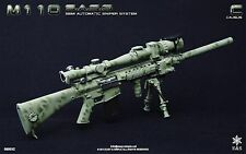Easy & Simple 1/6 Scale Toy 06003C M110 SASS Semi Automatic Sniper System Set