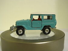 Tomica Pocket Cars #2 Toyota Land Cruiser in Blue. Made in Japan 1:60 diecast