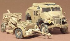 25PDR FIELD GUN & QUAD TRACTOR FORD FGT (BRITISH & CANADIAN MKGS)#44 1/35 TAMIYA