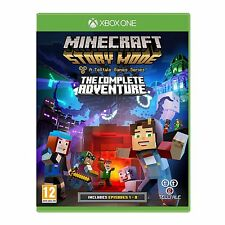 Minecraft Story Mode: The Complete Adventure (Xbox One) NEW & SEALED
