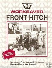 Farm Equipment Brochure - Worksaver - 3-point Hitches Adapters - 4 items (F2407)